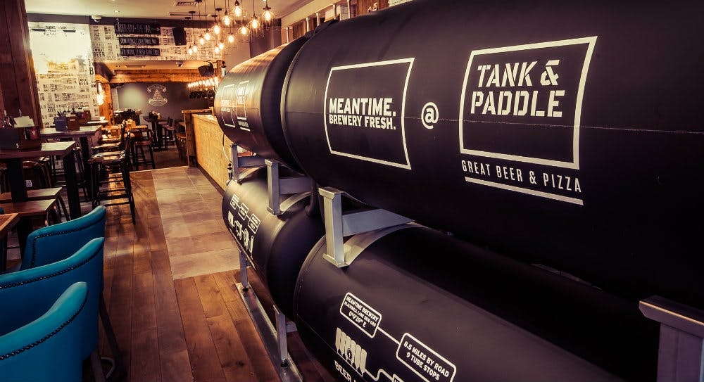 Tank & Paddle Heddon Street - New Bar in West End