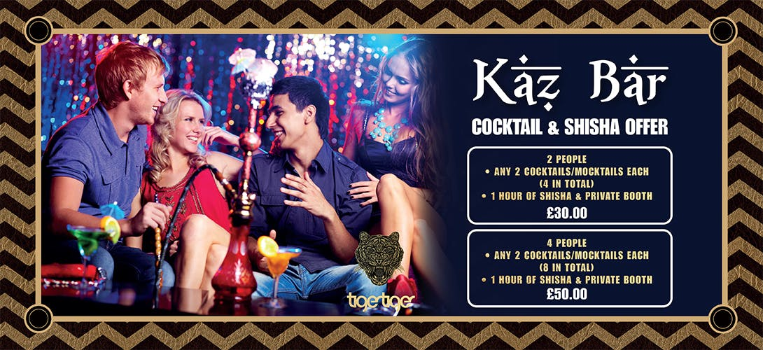 FINAL - Kaz Bar Shisha & Cocktail Offer 1090x500 Pixels Digital