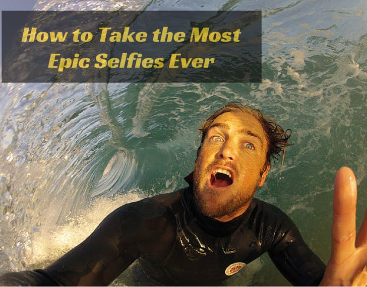 How to Take The Most Epic Selfies Ever | Selfie Stick Fun